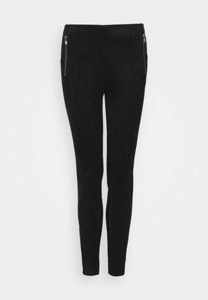 VMCAVA ZIP - Trousers - black