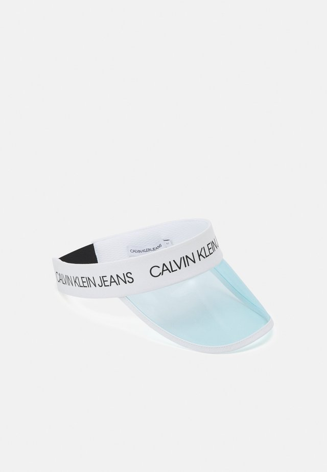 TRANSPARENT LOGO VISOR UNISEX - Kšiltovka - light blue