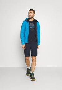 Icepeak - ALEDO - Print T-shirt - dark blue - 1