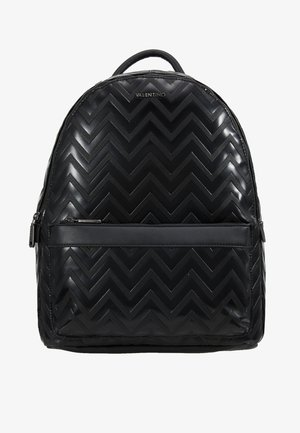 NUTRIA EMBOSSED BACKPACK - Plecak - nero