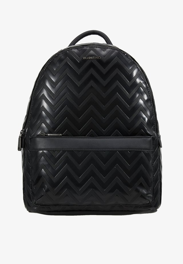 NUTRIA EMBOSSED BACKPACK - Rugzak - nero