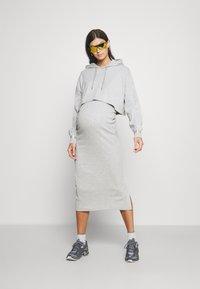 River Island Maternity - Jersey dress - grey - light - 1