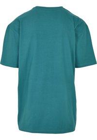 Starter - Print T-shirt - green/yellow/rose - 8