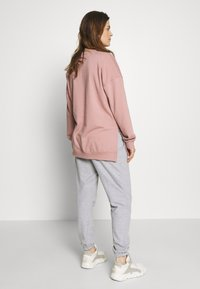 Missguided Maternity - Tracksuit bottoms - grey marl - 2