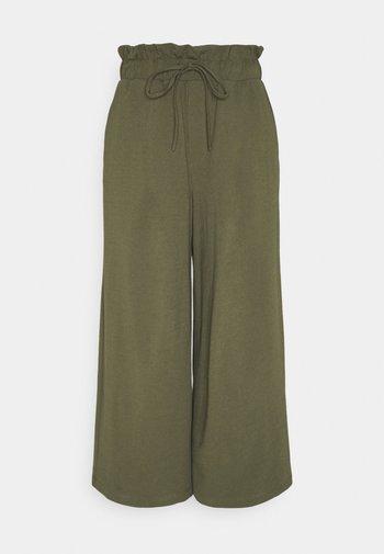 ONLKIRAS LIFE CULOTTE PANTS - Trousers - kalamata