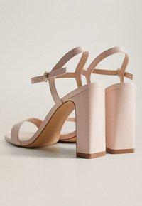Mango - AIR - High heeled sandals - nude - 4