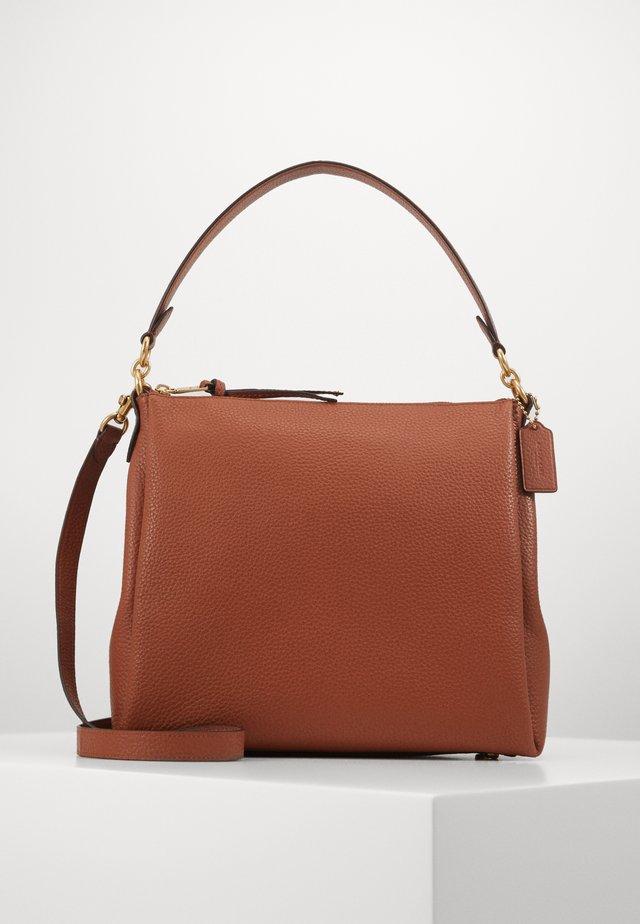 SHAY SHOULDER BAG - Handbag - saddle