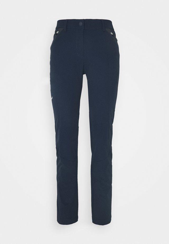 VEZZANA - Outdoor trousers - navy blazer