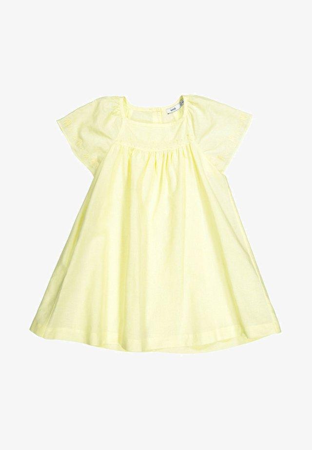 Day dress - tender yellow