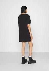 Alpha Industries - BASIC LONG - Jersey dress - black - 2