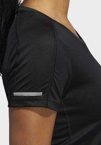 adidas Performance - RUN IT T-SHIRT - T-shirts - black - 7
