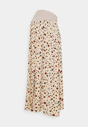 KSARA - Maxi sukně - beige