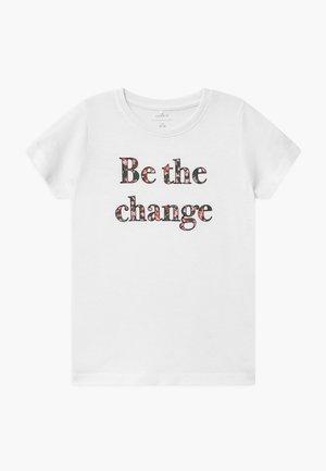 NKFKAIZA - T-shirts print - bright white