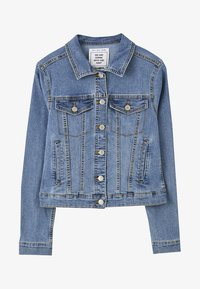 PULL&BEAR - Veste en jean - light blue - 6