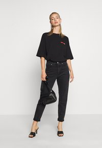 Even&Odd - T-shirts med print - black - 1