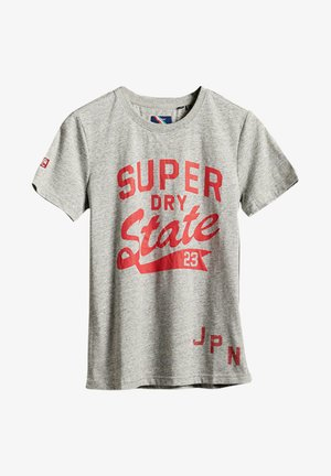 T-shirt con stampa - soft grey marl
