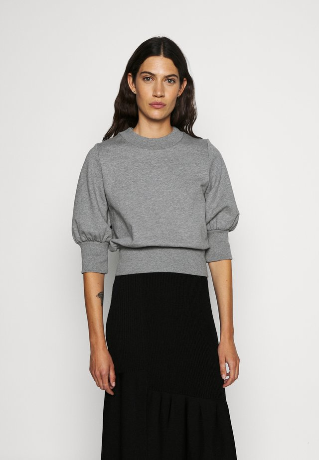 PUFFY FRENCH TERRY - Sweatshirt - grey melange