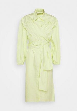 KEO - Shirt dress - lime yellow
