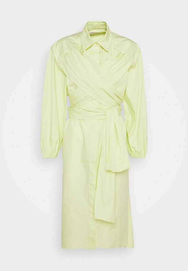 KEO - Robe chemise - lime yellow