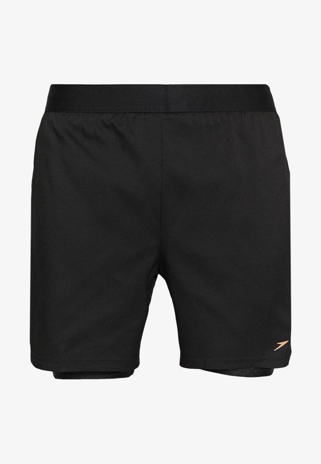 Short de bain - black/grey
