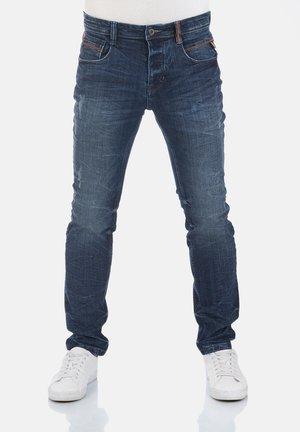 CASPAR - Slim fit jeans - dark blue