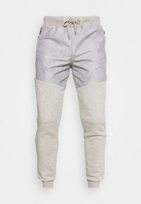 ABELLO  - Tracksuit bottoms - grey marl