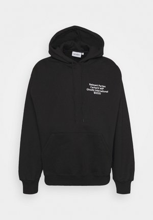 HOODED GHOSTLY  - Kapuzenpullover - black