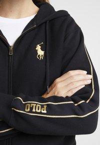 Polo Ralph Lauren - SEASONAL - Sweatjacke - black - 5