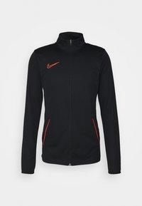 Nike Performance - ACADEMY 21 SUIT - Chándal - black/bright crimson - 1