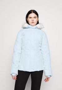 Missguided - SKI JACKET WITH MITTENS AND BUMBAG  - Winter jacket - light blue - 3