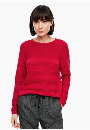Jumper - crimson red