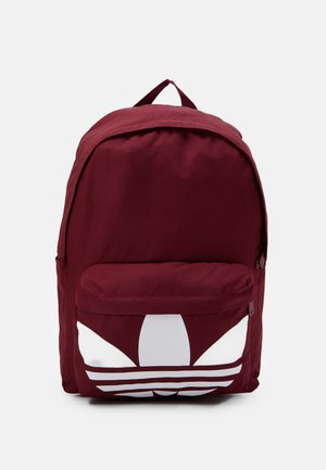 CLASSIC - Tagesrucksack - bordeaux/white