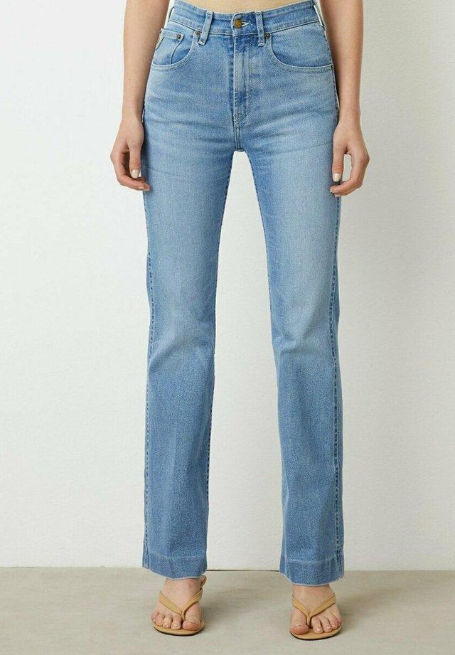 Jeans straight leg - heritage stone