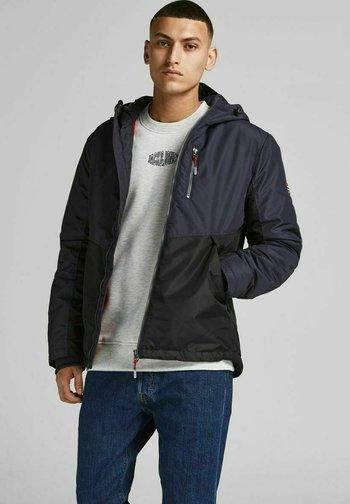 JJFASTER JACKET - Light jacket - dark navy