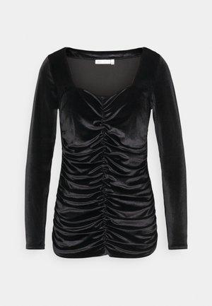 FARYL - Long sleeved top - black