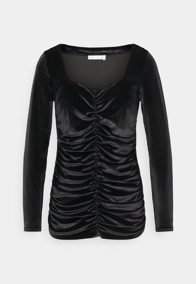 FARYL - Bluzka z długim rękawem - black