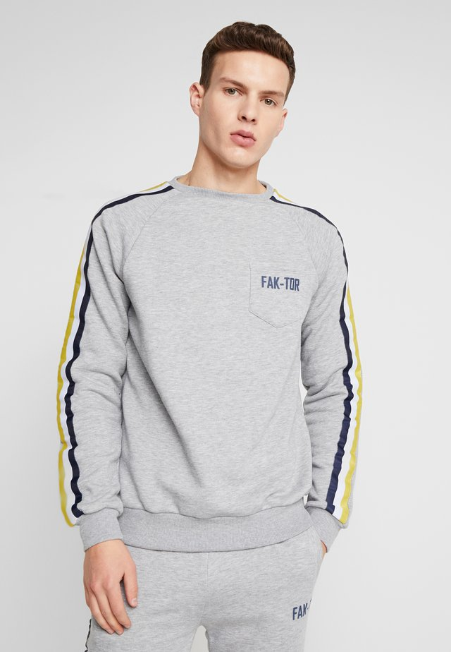 AIM CREW - Sweatshirts - grey