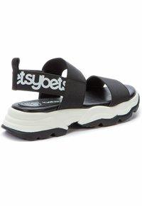 Betsy - Sandals - black  white - 2