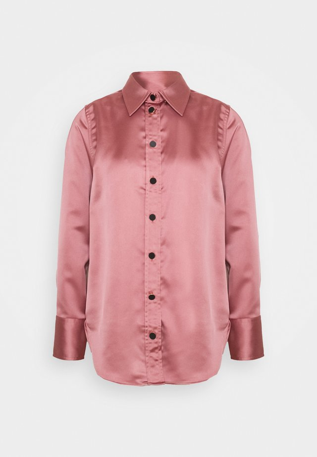 BOLD - Button-down blouse - dusty rose