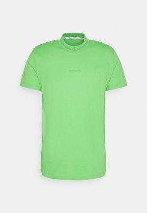 LOGO TEE UNISEX - Printtipaita - acid green