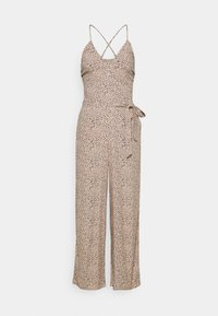 Abercrombie & Fitch - SMOCKED BODICE  - Jumpsuit - brown - 4