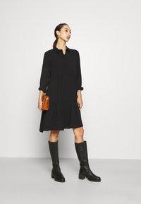 JDY - JDYPIPER DRESS - Shirt dress - black - 1