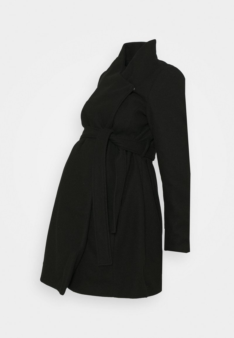 MAMALICIOUS - MLNEWROXY COAT - Płaszcz wełniany /Płaszcz klasyczny - black