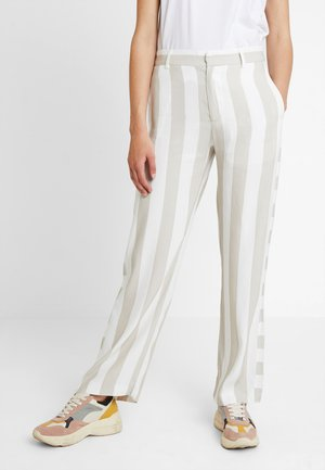 SLEEK TROUSER - Trousers - beige