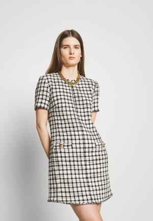 DAISY ABITO - Denní šaty - black/white