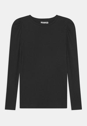 NKFKABEXI SLIM - Long sleeved top - black