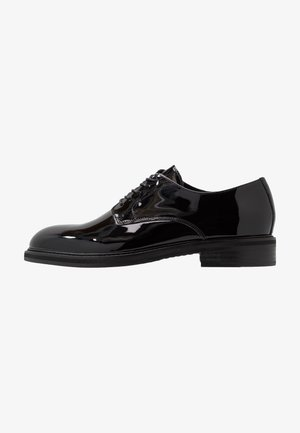 SLHFILIP DERBY SHOE - Schnürer - black
