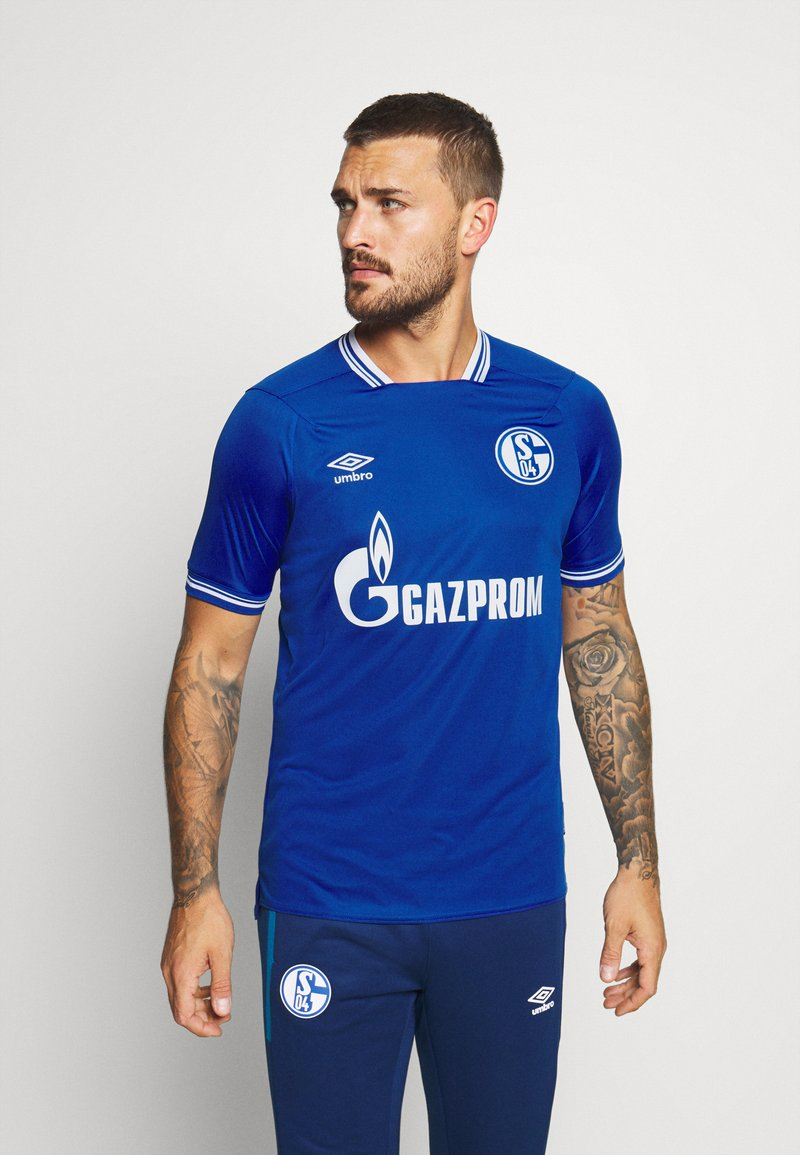 Umbro - FC SCHALKE 04 HOME - Club wear - deep surf/brilliant white