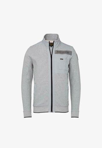 Zip-up sweatshirt - grey melee