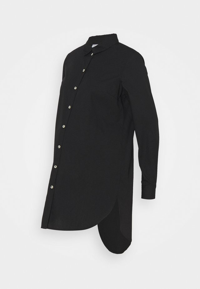 PCMNOMA LONG SHIRT - Camicia - black
